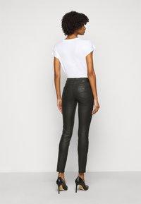 Emporio Armani - Trousers - black - 2