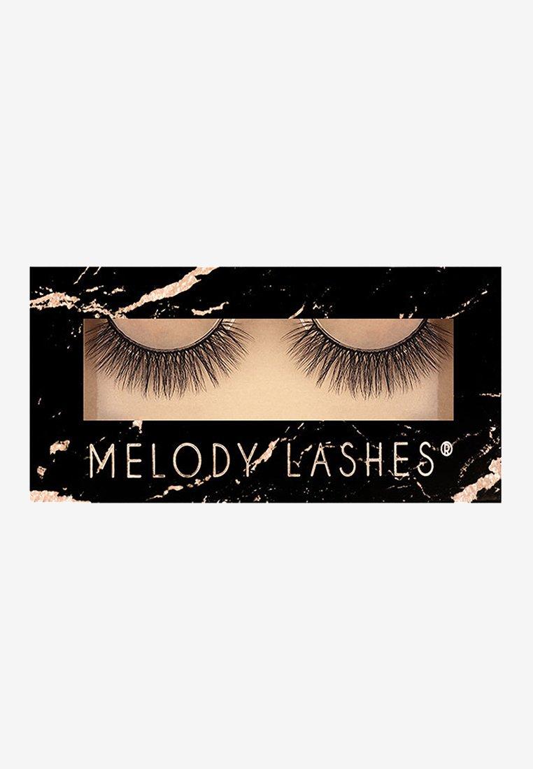 Melody Lashes - False eyelashes - black