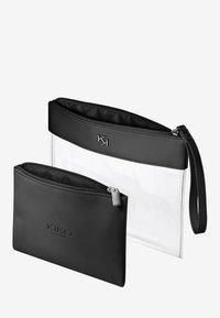 KIKO Milano - TRANSPARENT BEAUTY CASE - Makeup accessory - 001 black - 1