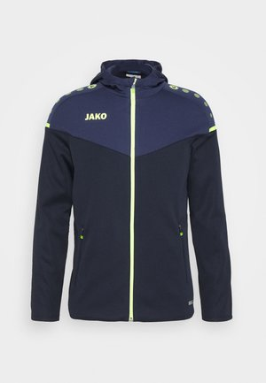 CHAMP - Training jacket - marine/blue/neongelb