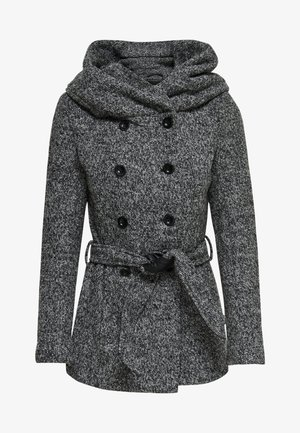 Klassisk kåpe / frakk - medium grey melange