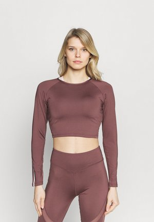 LONGSLEEVE - Topper langermet - rose brown