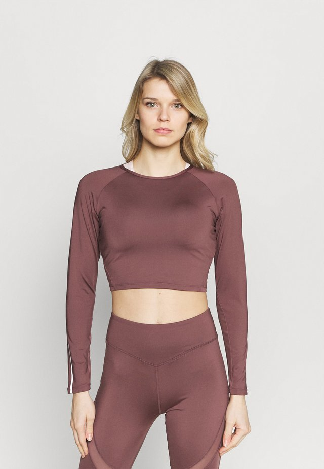 LONGSLEEVE - T-shirt à manches longues - rose brown
