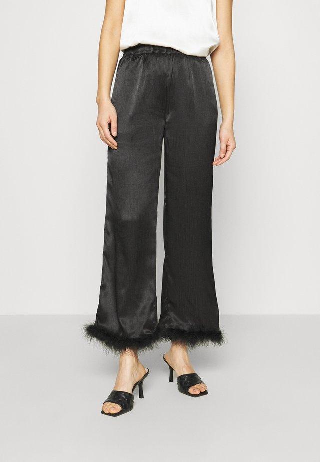 BIA PANT - Trousers - black