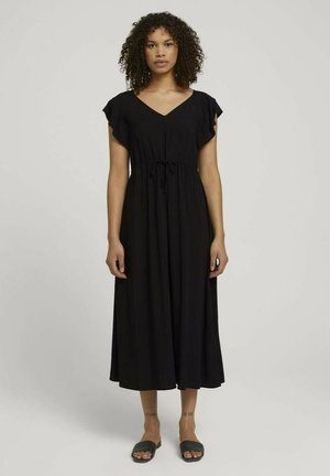 Jersey dress - deep black