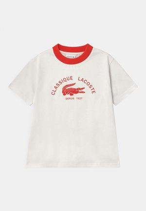 Print T-shirt - flour/redcurrant bush
