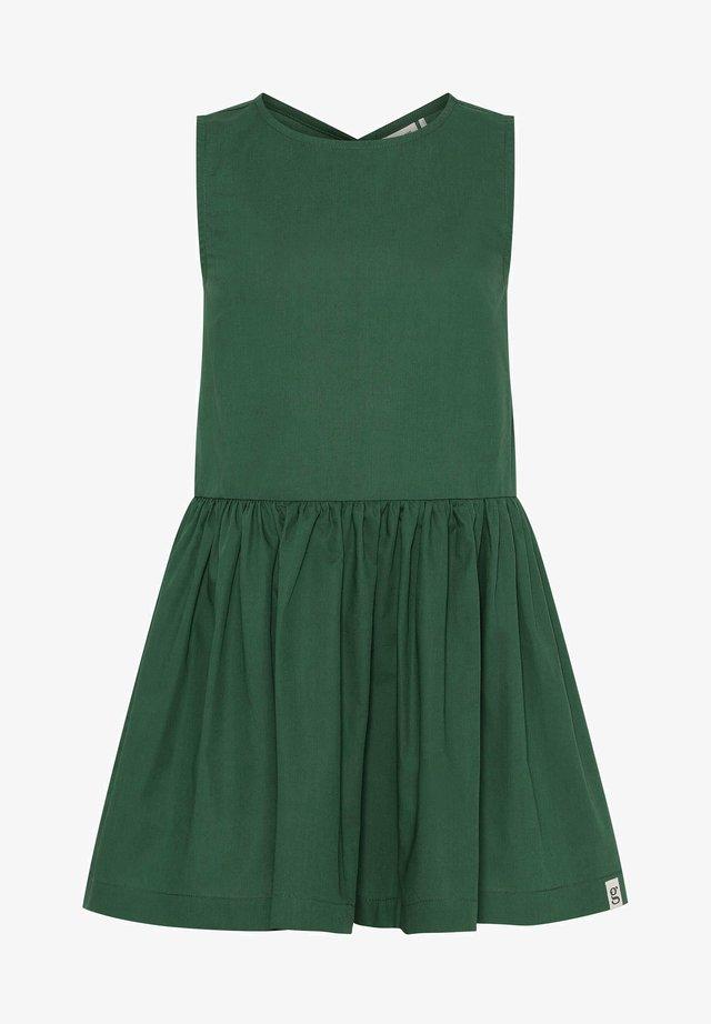 Shirt dress - dark green