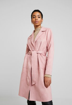 HEAVY COAT - Abrigo - blush