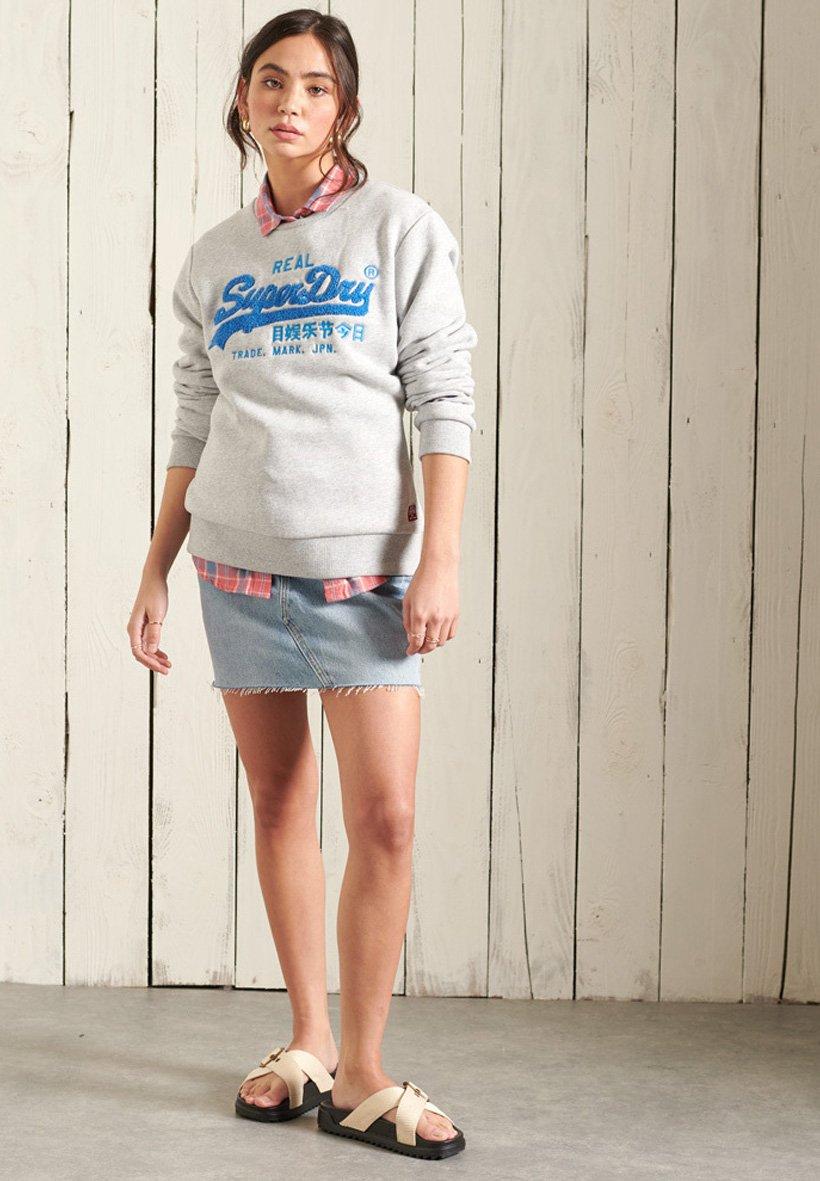 Damen SUPERDRY VINTAGE LOGO CHENILLE - Sweatshirt