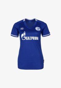 Umbro - FC SCHALKE 04 TRIKOT HOME - Sports shirt - blau / weiß - 0