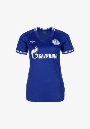 FC SCHALKE 04 TRIKOT HOME - Sports shirt - blau / weiß