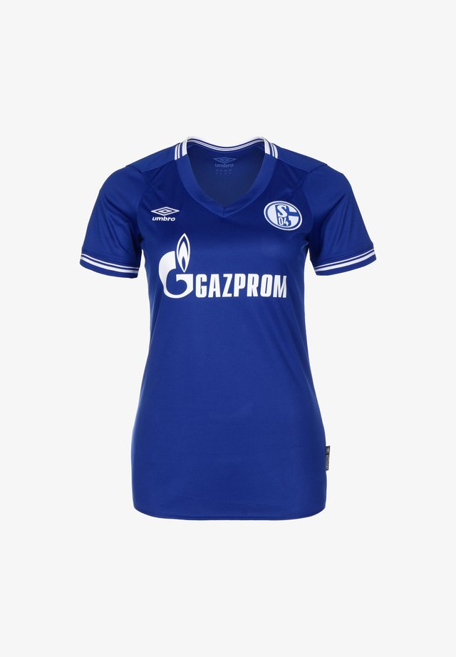 FC SCHALKE 04 TRIKOT HOME - Sports shirt - blau / weiß