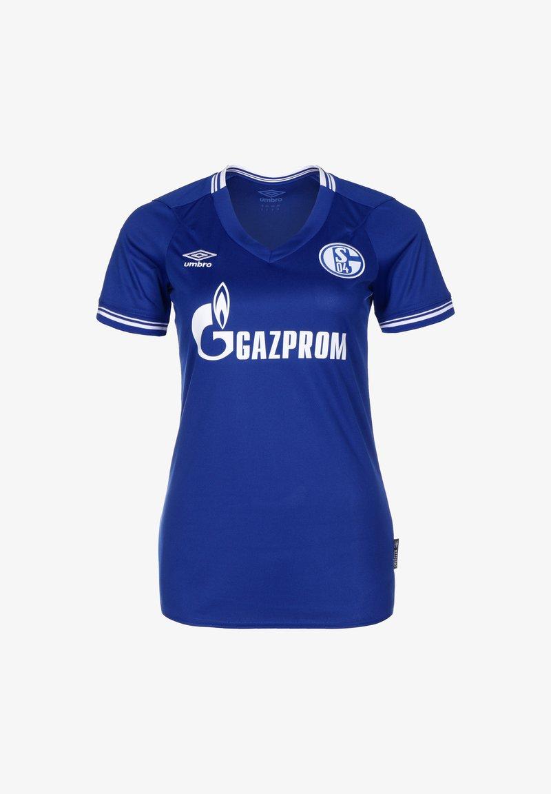 Umbro - FC SCHALKE 04 TRIKOT HOME - Sports shirt - blau / weiß