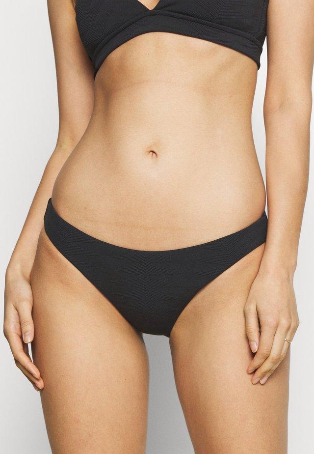 SEASIDE SOIREE HIPSTER - Bikini bottoms - black