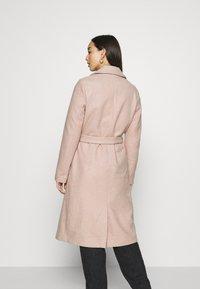 ONLY - ONLGINA WRAP COAT  - Classic coat - humus - 2