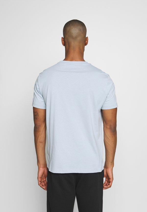 Champion Rochester ROCHESTER CREWNECK - T-shirt z nadrukiem - light blue/jasnoniebieski Odzież Męska XDIB