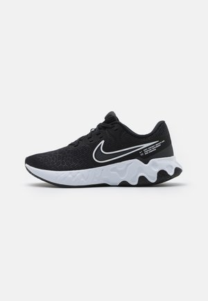 RENEW RIDE 2 - Neutral running shoes - black/white/dark smoke grey