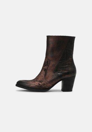 Cowboystøvletter - bronze