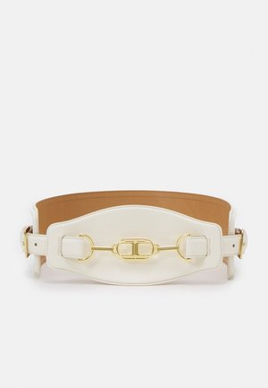 CLAMP WIDE BELT - Waist belt - burro