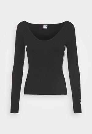 CLASSICS - Langærmede T-shirts - black