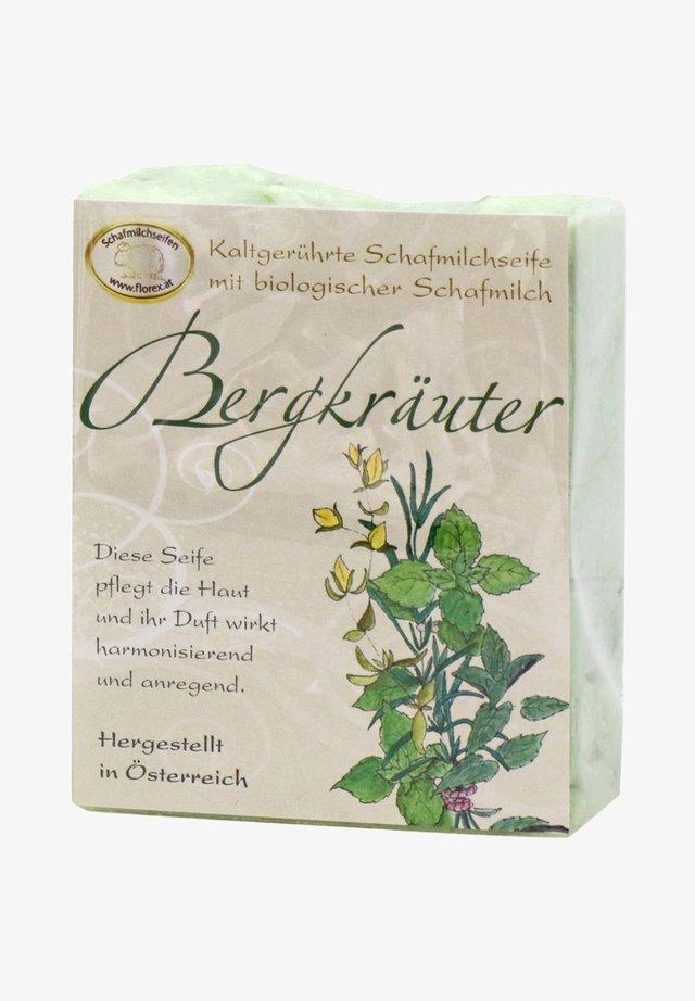 KALTGERÜHRTE SCHAFMILCHSEIFE BERGKRÄUTER - Soap bar - grün