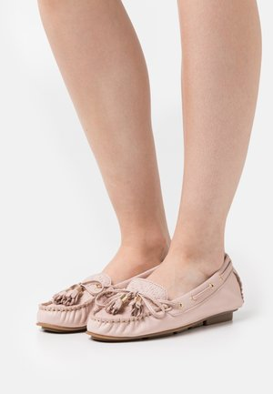 LEATHER - Moccasins - pink
