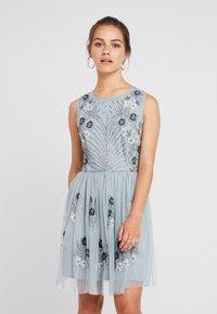 Lace & Beads Petite - NARA SKATER - Koktejlové šaty/ šaty na párty - teal - 0