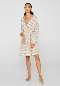 Esprit - Dressing gown - light brown - 1
