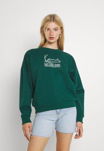 SIGNATURE CREW - Sweatshirt - green