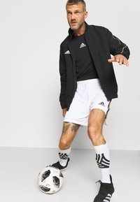 adidas Performance - SQUADRA 21 - Pantalón corto de deporte - white/black - 3