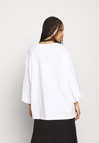 Monki - BILLIE TEE - Long sleeved top - white - 2