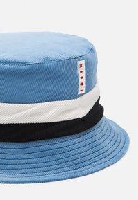 Marni - HAT UNISEX - Hat - orion blue/black/limestone - 2