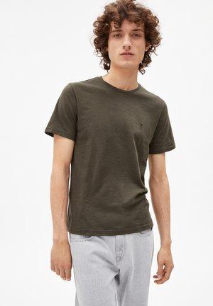 JAAMES STRUCTURE - Basic T-shirt - dark pine luna rock