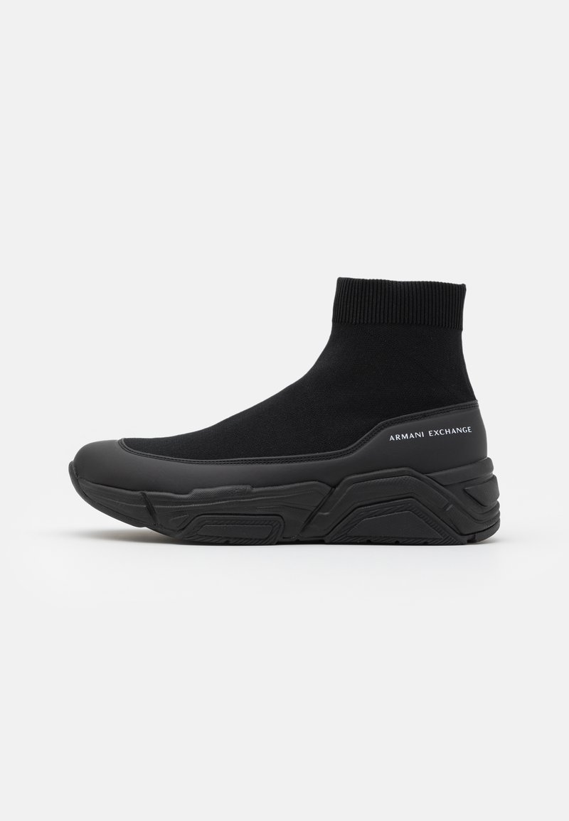 Armani Exchange - Sneaker high - black