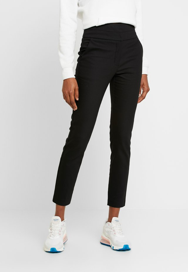 GEORGIA HIGH WAIST FULL LENGTH PANT - Bukse - black