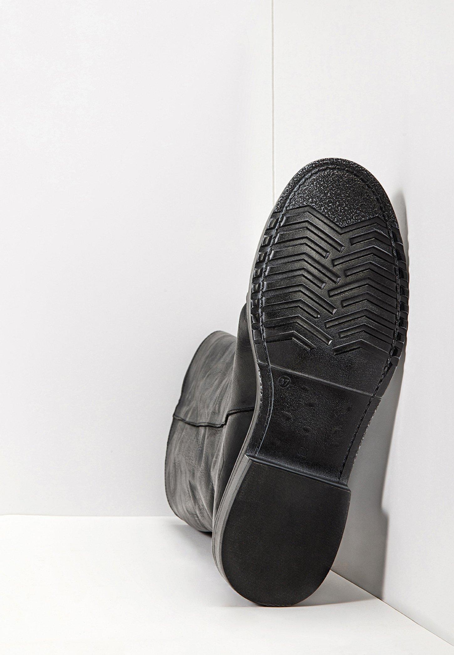 Inuovo Plateaustiefel blackblk/schwarz