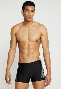 Arena - EVO - Swimming trunks - black/white - 0