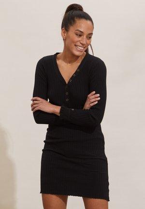 LINDSAY - Jumper dress - almost black
