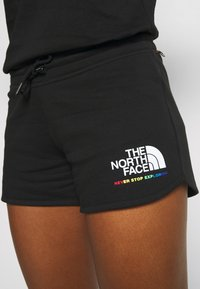 The North Face - RAINBOW SHORT - Sports shorts - black - 5