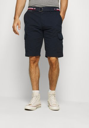 JOHN CARGO - Cargo trousers - blue