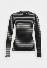 Even&Odd - Long sleeved top - black/white - 4