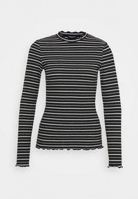 T-shirt à manches longues - black/white