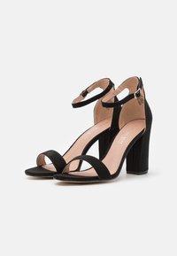 Madden Girl - BEELLA - Højhælede sandaletter / Højhælede sandaler - black - 2