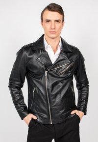 Freaky Nation - BLACK SELECT - Leather jacket - black - 1