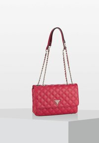Guess - CESSILY CONVERTIBLE XBODY FLAP - Across body bag - red - 1