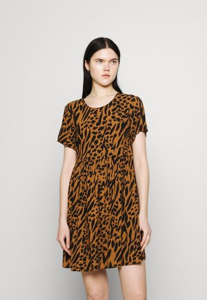 IGGY DRESS - Day dress - brown