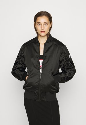 ERMIN JACKET - Bomber bunda - jet black