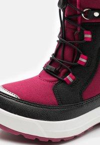 Reima - REIMATEC LAPLANDER UNISEX - Zimní obuv - dark berry - 5