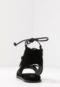 Liu Jo Jeans - THEA  - Sandalias tobilleras - black - 5