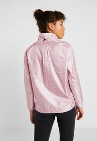 Under Armour - ATHLETE RECOVERY IRIDESCENT JACKET - Sports jacket - dash pink - 2